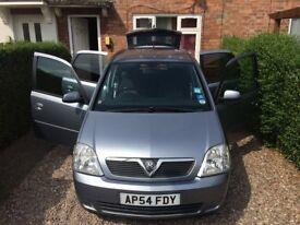 Vauxhall Meriva Breeze 2005, Petrol, Semi - Automatic ( Easytronic ), MPV, 111290miles,