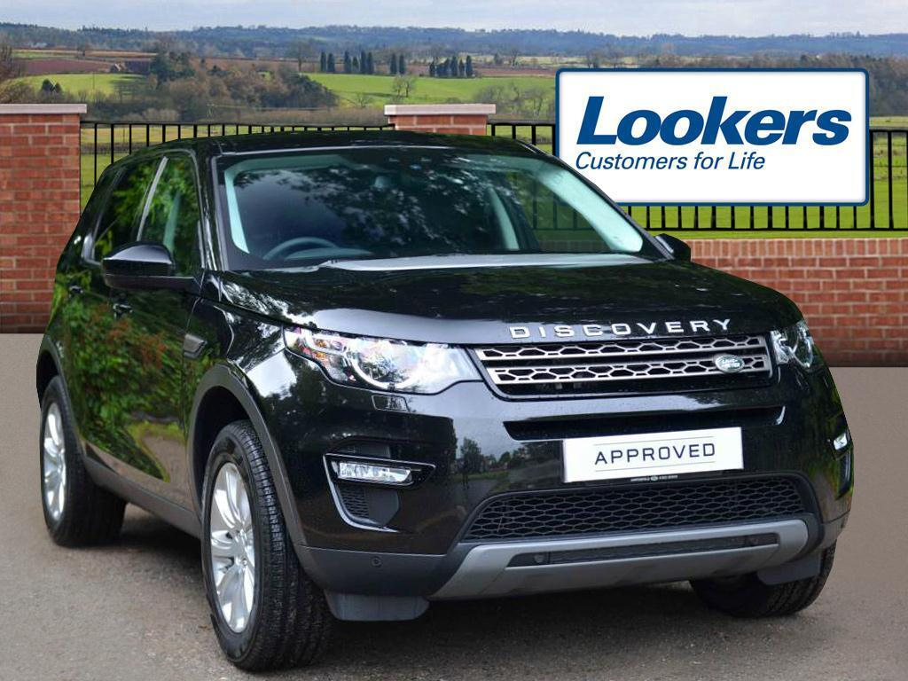 Land Rover Discovery Sport TD4 SE TECH (black) 2016-07-29