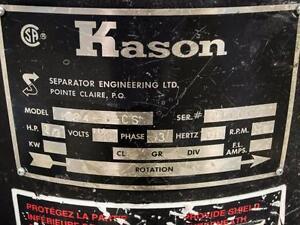 Kason K24-3-CS Circular Vibratory Screener