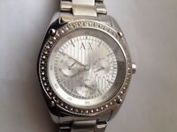 AX Armani Exchange Multi-Function Silver Dial Ladies Watch AX5030