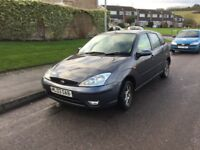 03 Ford Focus 1.6 zetec mot low insurance low tax £340