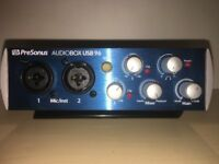 PreSonus AudioBox 96 USB EXCELLENT!