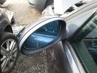 BMW 3 Series E90 E91 Heated left passenger wing mirror N/S