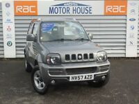 Suzuki Jimny JLX PLUS (HALF LEATHER) FREE MOT'S AS LONG AS YOU OWN THE CAR!!! (grey) 2007