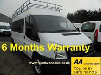 Ford Transit 2.4 TDCi 350 L Trend Medium Roof Bus 4dr (13 Seat, LWB)