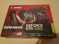 MSI GTX 1060 6GB Gaming Geforce