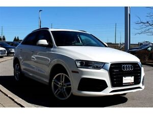 2018 Audi Q3 2.0T Komfort + Panoramic Sunroof | Bluetooth