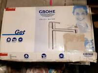 Grohe monobloc kitchen mixer tap in chrome RRP £149