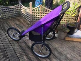 Baby jogger jogging pushchair