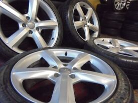 20inch Q7 genuine S LINE alloys wheel 5x130 porsche cayenne px welcome