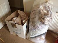 Packaging materials - bubble wraps and packing paper