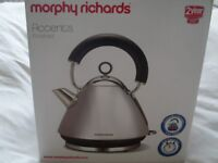 Brand New Morphy Richards Polished Accents Electric Kettle model 43825 still in box