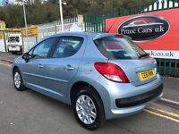 2011 (61 reg) Peugeot 207 1.4 Active 5dr 5 Speed Manual Low Miles