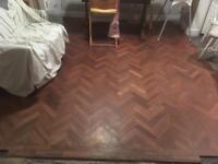 Woodblock/parquet flooring