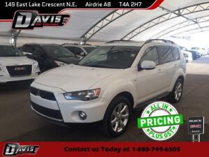 2012 Mitsubishi Outlander SUNROOF, CLOTH, SEATS 7, BLUETOOTH