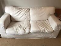 Free !! Cream habitat sofa