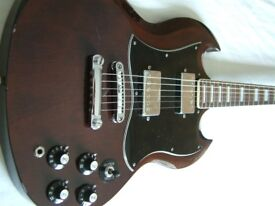Antoria electric guitar - Japan - '70s - Gibson SG homage-