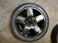 Audi A8 spare wheel and tyre