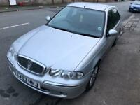 rover 45 with long mot,low milage lovely drive