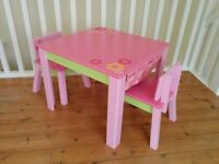 Girls Table & Chairs - Great Little Trading Co