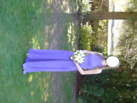 Bridemaids Dresses or Prom Dresses x 2 in Bluebell - Worn once Make/Design - Romantica Flora