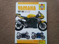 Haynes 4601 Manual - Yamaha YZF-R6 2003-2005