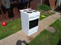 dishwasher, washing machine and oven