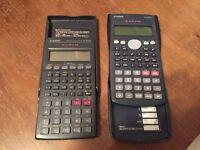 Two Casio Scientific Calculators