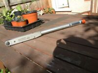 """Britool EVT 2000A 1/2"""" Drive TORQUE WRENCH 50-225 NM"""