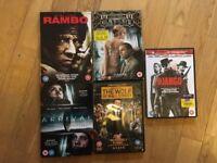 Five DVDs
