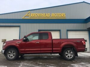 2015 Ford F-150 XLT 4x4 Extended Cab