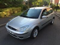 FORD FOCUS PETROL 5 DOORS,12 MONTHS MOT,SERVICE HISTORY,LOW MILEAGE,1 OWNER.