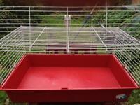 Ferplast indoor rabbit/ Guinea pig cage