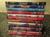 Around 50 dvds