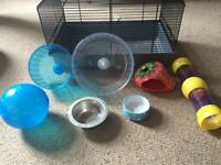 Hamster cage and bundle