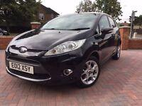 Free 12 Mths Warranty, Ford Fiesta 1.4 TDCI Zetec Diesel Black Manual , £20 Road Tax, FSH