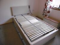 Electric Adjustable Small Double Bed Base