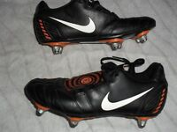 NIKE TOTAL 90 FOOTBALL BOOTS - SIZE 5 - EXCELLENT SCREW OUT STUDS - ONLY £5