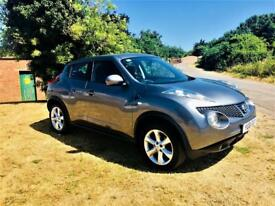 NISSAN JUKE 1.5 ACENTA DCI, MOT April 2019, Just Serviced, Looks and drives superb (grey) 2011
