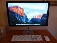 "Apple iMac 27"" A1312 i7 3.4Ghz 16GB RAM 256GB SSD 2TB SATA"