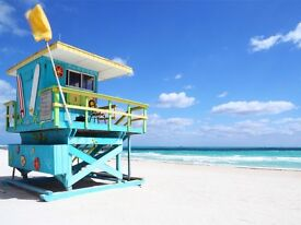 REDUCED - LAST CHANCE TO BUY ** 2x THOMAS COOK DIRECT FLIGHTS TO MIAMI - GREAT LAST MINUTE DEAL **