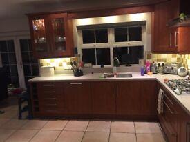 Complete kitchen incl appliances avail August