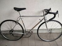 Vintage Peugeot road bike. Lightweight54cm Carbolite 103 frame, 5gears, 700c wheels, Fully restored