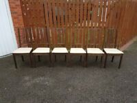 6 Ikea Borje Chairs FREE DELIVERY 405