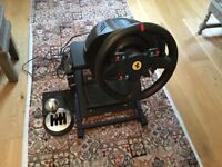Thrustmaster T300 racing driving wheel gaming set up - PC -PS4 COLLECTION ONLY