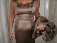 MOTHER OF THE BRIDE DRESS SIZE 10