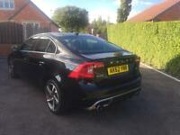 VOLVO S60 R DESIGN D2 73000 GENUINE MILES ONE OWNER FROM NEW £30 ROAD TAX 115BHP