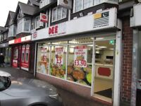 *SHOP TO LET*YARDLEY WOOD ROAD*RUNNING BUSINESS*ALL FIXTURE AND FITTINGS INCLUDED*STRONG CLIENT BASE