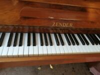 zender royalette wallnut very small 85 note can deliver £430