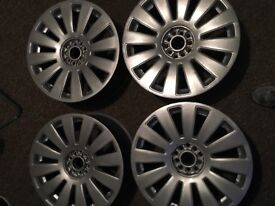 "Alloy Wheels x 4 18"" 5 stud Good Condition"